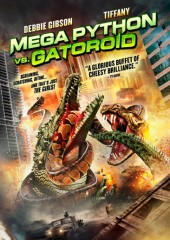 Mega Python vs. Gatoroid DVD cover art - click to buy DVD from Amazon.com