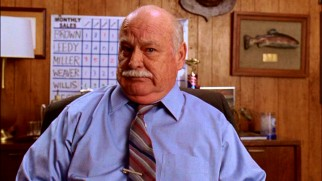 While not part of the credited principal cast, Brian Doyle-Murray appears in half of Season 1's episodes as the gruff Mr. Ehlert, Frankie's boss.