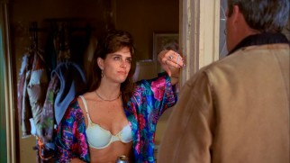 Brooke Shields guest stars as a less than classy woman whose dog and four sons are terrorizing the neighborhood.