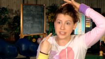 "Actress Eden Sher recalls an embarrassing school photo from real life in the short and lacking ""Sue's Best Shots."""