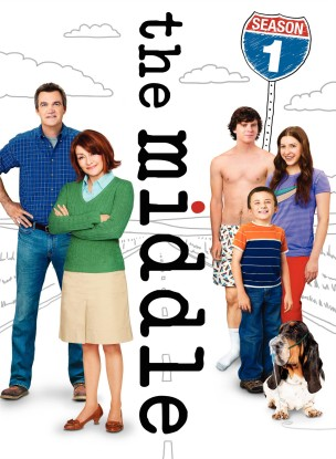 The Middle: The Complete First Season DVD cover art - buy from Amazon.com