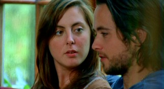 To Dorian's dismay, Grace (Eva Amurri) takes romantic interest in unshaven preppy boy Ben Pretzler (Justin Chatwin).