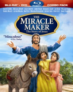 The Miracle Maker Blu-ray + DVD cover art -- click to buy Combo Pack from Amazon.com