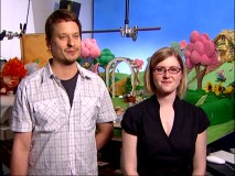 "Animators Aaron Woodley and Bronwen Kyffin talk about ""What Makes Stop Motion Go"" in the bonus featurette."