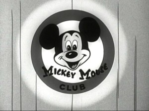 The highly-recognizable Mickey Mouse Club logo which appears in the animated portion of the show's opening.