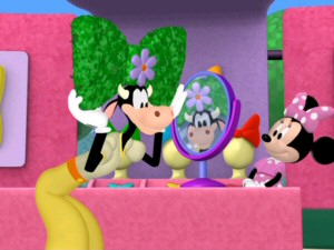 Among the oft-forgotten Disney characters showing up around the Mickey Mouse Clubhouse is Clarabelle Cow.