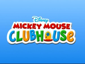 "The ""Mickey Mouse Clubhouse"" title logo was too exciting for us to share with you right away. So, we waited until the show's 5th DVD review. Hopefully, you are now mature enough to handle the awesomeness of this graphic."