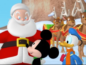 mickey saves santa and other mouseketales the title really says it all - Mickey Mouse Clubhouse Christmas