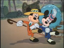 "Mickey and Minnie in ""The Nifty Nineties"""