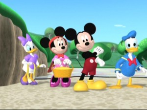 Mickey and the gang cheerfully go to visit a sick Goofy even with seemingly insurmountable obstacles in their way.