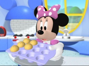 Minnie is rather surprised to find several cupcakes missing. Can you count how many are missing?