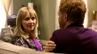 "Dede (Shelley Long) entrusts her son Mitchell to help her right recent wrongs in ""The Incident."""