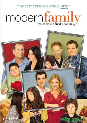 Modern Family: The Complete First Season DVD cover art - buy from Amazon.com