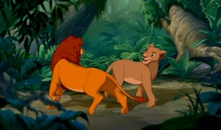 Nala and Simba reunite for the first time since childhood.