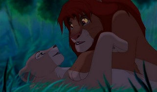 It may be a G-rated film, but adult Nala is still quite the seductress.