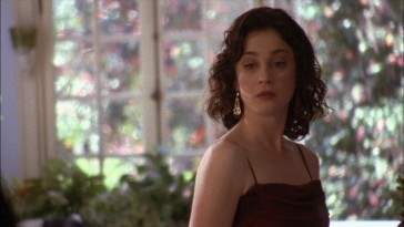 "Karen Roe (Moira Kelly) takes in some potentially shocking news in the third season cliffhanger that helped save ""One Tree Hill."""