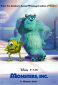 Monsters, Inc. (2001) movie poster