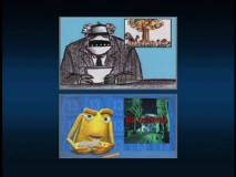 The DVD provides viewers with the opportunity to see the storyboard and final versions of the film side-by-side.