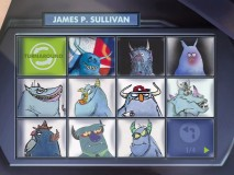One of several pages worth of concept art for Sulley.