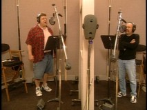 "John Goodman and Billy Crystal record the Oscar-winning ""If I Didn't Have You"", as seen in ""Monster Song."""
