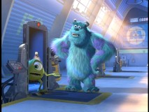 "In ""On the Job with Mike & Sulley"", our eponymous protagonists give a mock interview to the local media."