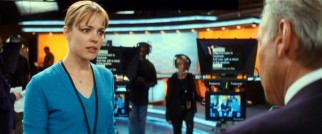 Her patience tested by the on-air talent, Becky (Rachel McAdams) unleashes a tirade on her uncooperative anchorman.
