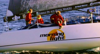 "Roy Disney's 2008 documentary ""Morning Light"" centers on the assembly of a team of under-25 amateurs competing in the Transpac, an over 2000-mile offshore race from Los Angeles to Honolulu."