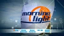 The Morning Light's colorful sail logo appears prominently in this shot from the DVD main menu's montage.
