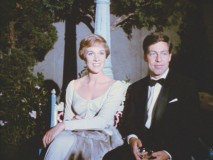"Julie Andrews and then-husband costume designer Tony Walton in ""The Party."""