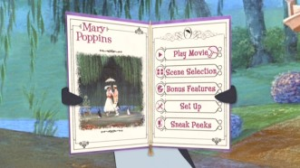 Disc 1's Main Menu