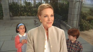 "Julie Andrews et cetera in the new short ""The Cat That Looked At a King."""