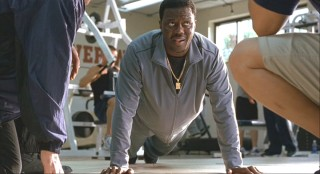After nine years away from the game, Stan Ross (Bernie Mac) has trouble doing pushups.