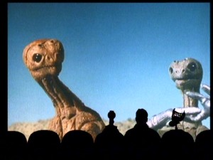 "For eleven years, no B-movie was safe from being lampooned by MST3K's silhouetted commentators. Having aliens as ridiculous as those ones in ""Laserblast"" surely helped your chances of being featured."