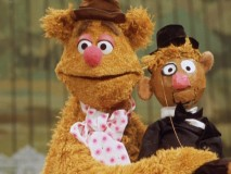 "A glimpse of Fozzie and his dummy from the pointless ""Pepe Profiles"" bonus feature."
