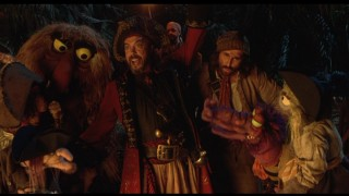 Yo-ho, yo-ho, a pirate's life for Tim Curry and company.