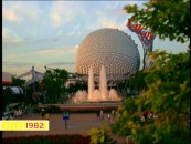 In a featurette on world-shaping inventions, Disney can't help but include a little self-love, highlighting the 1982 opening of EPCOT alongside discoveries like fire, the wheel, and flight.