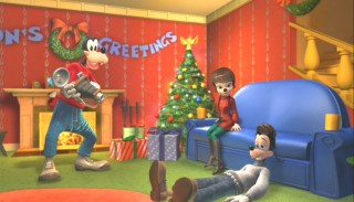 "In ""Christmas Maximus"", Max worries that Goofy will scare off his girlfriend from college."