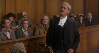John Cleese delivers a cameo as Mr. Toad's disapproving lawyer.