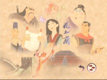 "The menu for ""DisneyPedia: Mulan's World."" In this extra, Mushu talks about elements of Chinese culture seen in the film, with his trademark sense of humor."