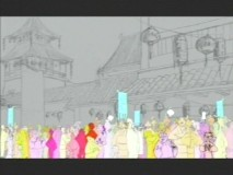 "Animating crowds in ""Digital Dim Sum."""