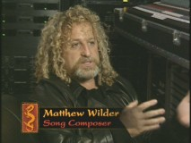 "Song composer Matthew Wilder speaks in the ""Songs of Mulan"" featurette."