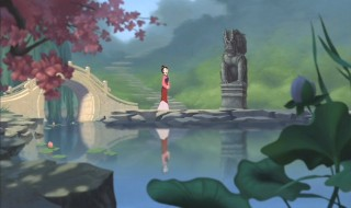Mulan goes for a walk to 'reflect' on things.