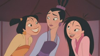 "Will the three princesses introduced in ""Mulan II"" stay true to their hearts?"