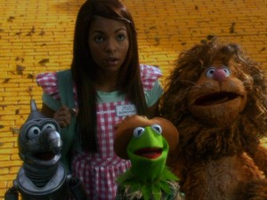 Why is it that the Muppets can show more believable emotion than their living, breathing co-star?