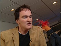 Quentin Tarantino appears as himself again, still in tongue-in-cheek fashion in an extended interview with Pepe.