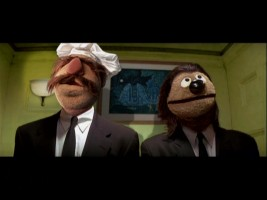 "Now this looks like a more interesting movie. Swedish Chef and Rowlf as envisioned in their ""Pulp Fiction"" roles by Quentin Tarantino."