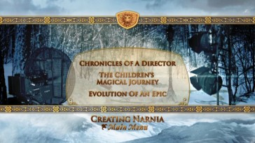 "In what is likely the set's neatest menu, ""Creating Narnia""'s selection screen depicts the magic behind the magical world."