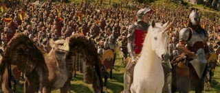 "Led by Peter, this is the good army. Why are they fighting? ""For Narnia!!!!"""