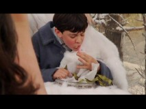 Skandar Keynes' skill in Turkish Delight eating is the subject of a Disc 2 Easter Egg.