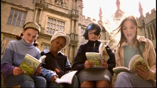 "British kids read from the Chronicles of Narnia books in ""C.S. Lewis: Dreamer of Narnia."""